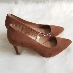 Women's A New Day Brown 6W Suede like material